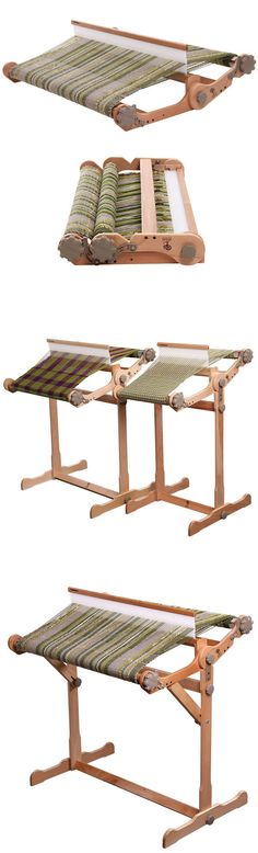 Weaving Looms 57741 Weaving Loom Kit Large With Stand Wooden