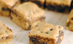 How to Make Chocolate Chip Paleo Bars...maybe I'll be able to eat it in like a month!