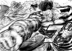 one punch man One Punch Man Manga, Punch Manga, One Punch Man 2, Manga Anime, Anime One, Art Poses, Martial Arts Manga, One Punch Man Memes, Drawing People