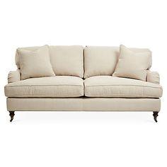 "Brooke 78"" Sleeper Sofa, Natural                  -                                Sofas & Settees                  -                                Living Room                  -                                Furniture                                              One Kings Lane"