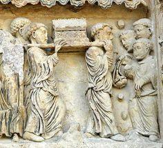 Abbaye de Fleury, San Benoit sur Loire Saint Benoit, Fleury, Medieval Art, Loire, Roman, Lion Sculpture, Statue, Art, Sculpture