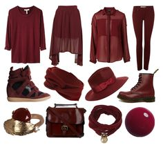 Burgundy Color | school, I used to despise the color burgundy. As the mandatory color ...