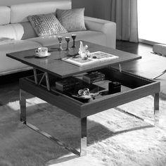 Mesa de centro-comedor, elevable y extensible MELEVO. | lavanderia ...