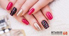 Cute & Beautiful Nail Art Designs💅 #STUDIO68 #bestnailart #salon #nailart #makeupstudio #nailartstudio #beautysalon
