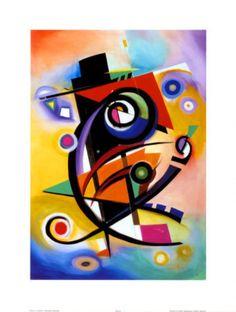 Pintura y Fotografía Artística : PINTOR WASSILY KANDINSKY
