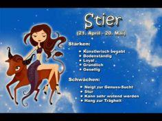 Sternzeichen Stier - Ihr Charakter wird hier treffsicher beschrieben - oder ? - YouTube