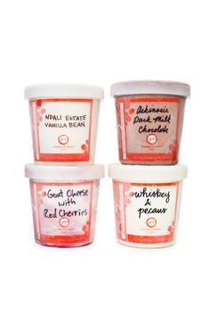Price Bracket: Under $50 Forget Champagne. We'll happily toast to each new union with one-of-a-kind, flavored ice creams.