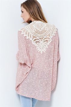 Aspen Cardigan in Crochet on Emma Stine Limited