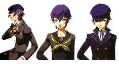 Naoto Shirogane from Shin Megami Tensei: Persona 4
