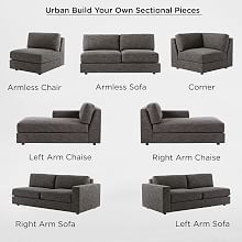 Build Your Own - Urban Sectional Pieces