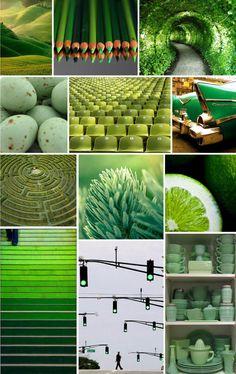 Green inspiration station.