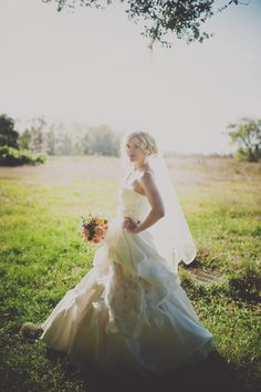 light washed in love    Check out Leigh and Lander on Southern Weddings blog