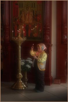 The faith of a child...