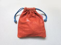 2 Sided  MacBook Power Cord Bag/ Cosmetic by CaramelLeatherCrafts, $76.00