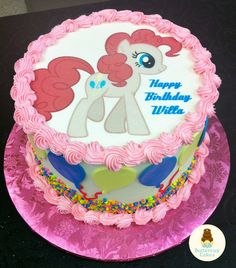 My Little Pony Birthday Cake Dani Borow Cartoon Character Cakes