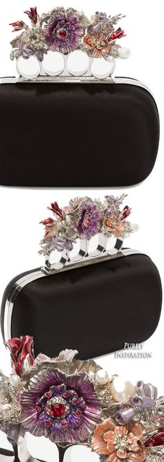 Alexander McQueen Four Ring Clutch | Purely Inspiration