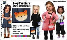 Sims 4 CC's - The Best: Clothing & Accessoires & Bags for Toddlers by Sims...