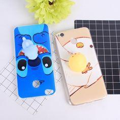 e7282c99f5a Squishes 3D Cat Phone Case For Xiaomi Redmi 4X 4A Note 4 Pro China Version  Case