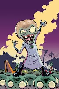 Plants vs Zombies: Garden Warfare comic