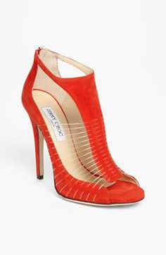 Hot red,high heels