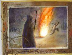 O dobré a zlé moci ; Ilustrace; František Skála
