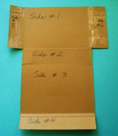 Learning Ideas - Grades K-8: Finding the Surface Area of a Cereal Box (Rectangular Prism)