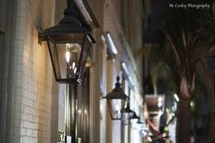 Bevolo Lanterns in the  French Quarter | gas lighting = gorgeous | #bevolo