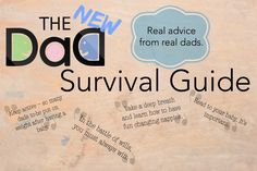 New Dad Survival Guide: Real Advice from Real Dads - TheDadsNet Practical Parenting, Parenting Hacks, Dad Advice, Feeling Stupid, Dad Baby, New Dads, Feeling Loved, Guided Reading, Survival Guide