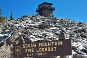 Photo: SQUAW MOUNTAIN FIRE LOOKOUT