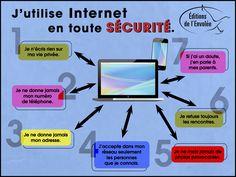 La sécurité sur Internet est très importante.  Pensons à nos enfants et sensibilisons-les.