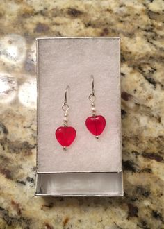 Be My Valentine Earrings Earrings by FrenchMermaid on Etsy