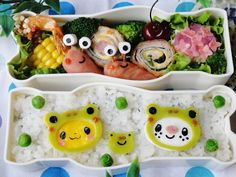 Pokemon frog bento  #bento #弁当 #lunchbox