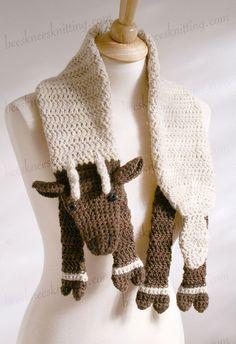 Digital PDF Crochet Pattern for Reindeer por BeesKneesKnitting
