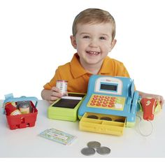 Just Like Home Electronic Cash Register
