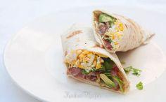Ontbijt=Slank & Snel: Mexicaanse ontbijtwrap