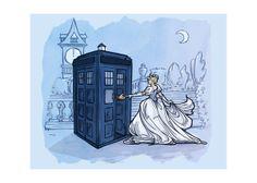 Check out Disney/TARDIS art at this Etsy shop.   @Anastasia Zellner  @Page Schenone