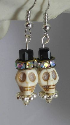 Check out this item in my Etsy shop https://www.etsy.com/listing/544872021/skull-earrings