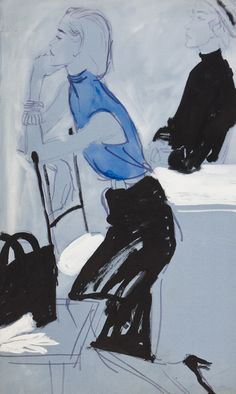 Brian Stonehouse. The Pencil Skirt 1955