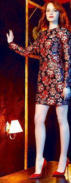 Celebrity Leg Show: Emma Stone