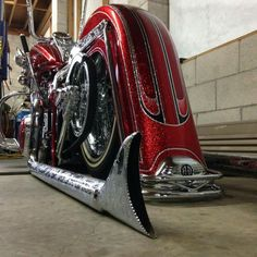 Long and low custom Softail Deluxe.. Love it!
