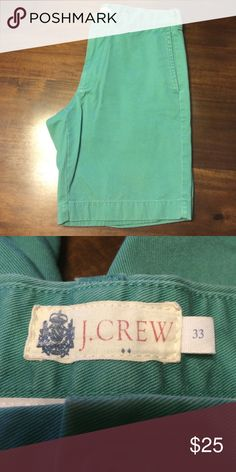 🆕 listing - NWOT- Men's shorts 🆕 listing - NWOT- Men's shorts. Laundered but never worn. #M27 J. Crew Shorts Flat Front