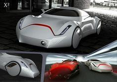 X2 - the futuristic car