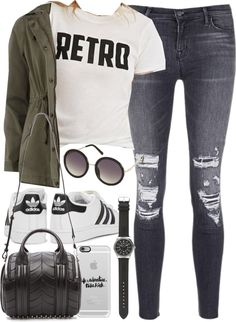 Style Selection Fashion Blog | Outfits and Advice • Outfit for university in autumn by ferned...