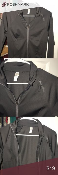 Under Armour Zipup Fitted Under Armour Zipup. Size Medium, too small for me! Under Armour Jackets & Coats
