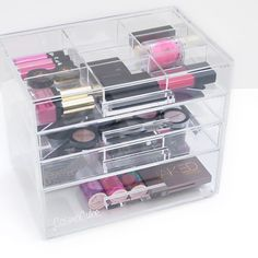 #Sephora 2015 Instagram Fan Pick: CosmoCube Posh Makeup Organizer. The ultimate personal, high-quality, acrylic makeup organizer.