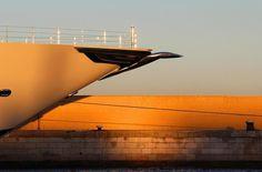 More photos of 106m superyacht Amadea in Gibraltar