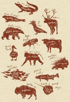 animal goodbyes