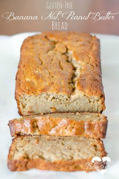 Need to stay on a gluten-free diet, but love quick, sweet breads? This simple, gluten-free banana peanut butter bread is perfect for you! No xanthum gum!