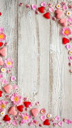 Love hearts wallpaper by georgekev - - Free on ZEDGE™
