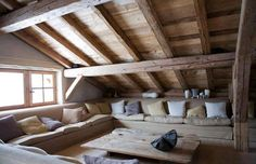 Cozy attic. Would be there. Forever.